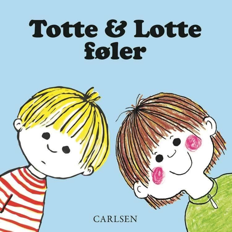 Totte og Lotte, Totte og Lotte føler, papbog, børnebog, børnebøger, adventsgaver, kalendergaver