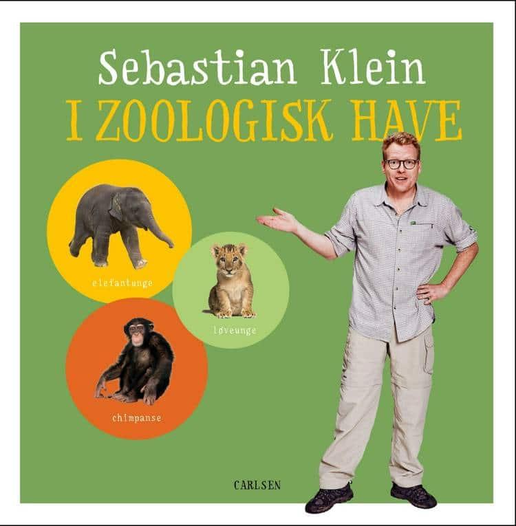adventsgaver, kalendergaver, Sebastian Klein, Sebastian Klein I zoologisk have, dyrebog, dyrebøger, papbøger, papbog,