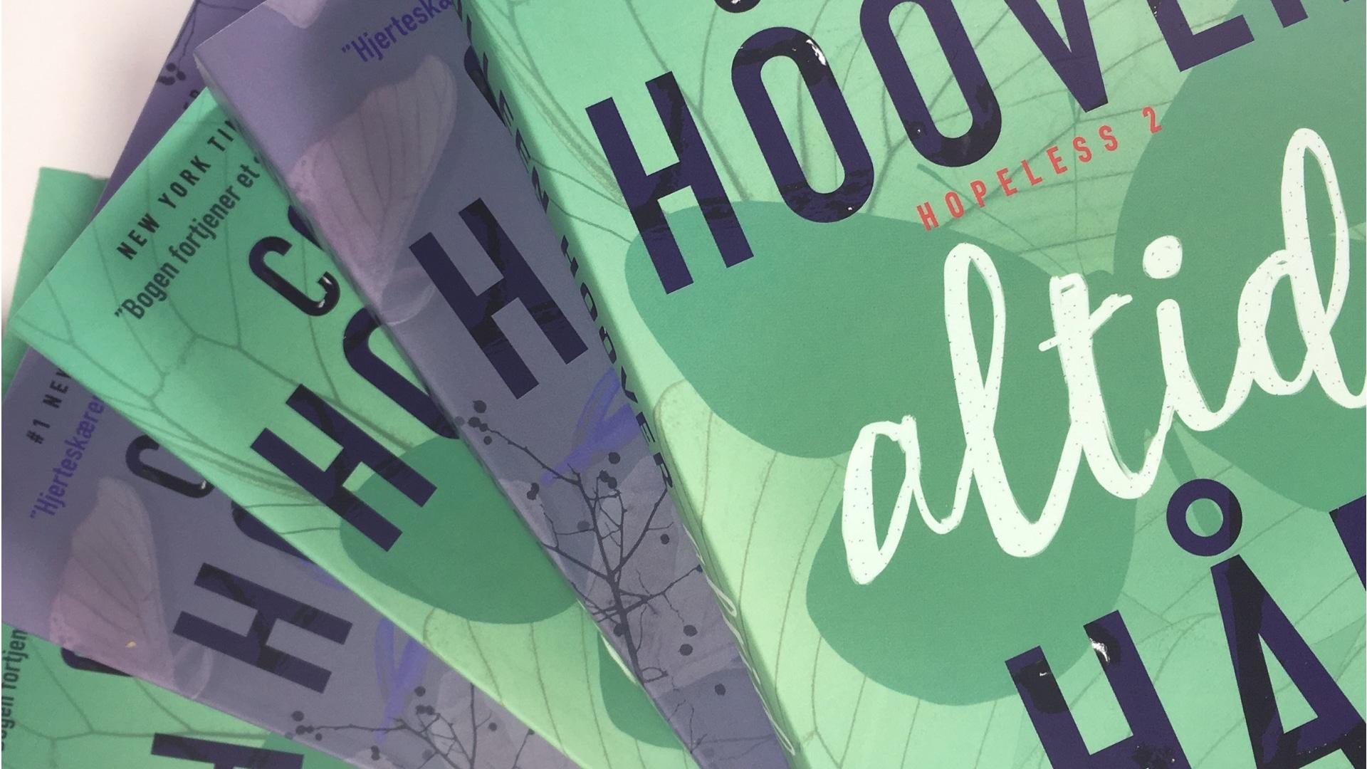 Hopeless, Uden håb, Altid håb, Colleen Hoover, romance, kærlighedsbøger
