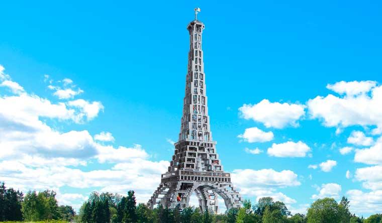 Guinness World Records, Guinness World Records 2019, record, rekordbog, Eiffeltårnet, LEGO, LEGO-model