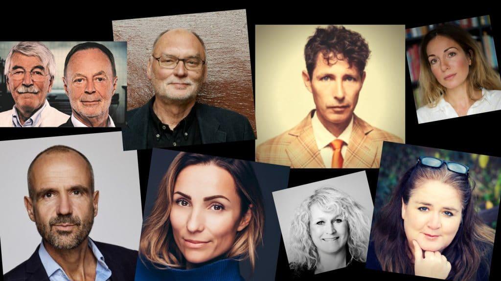 krimiforfattere bogforum 2018