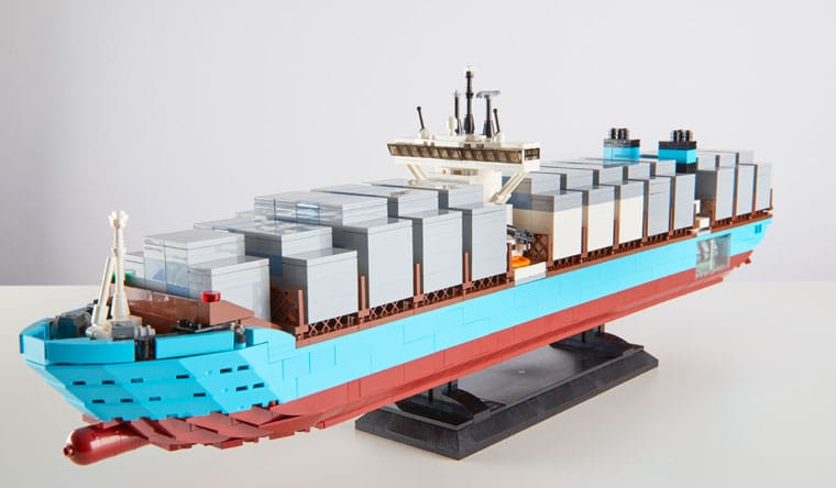 Guinness World Records, Guinness World Records 2019, rekordbog, LEGO, LEGO-model, containerskib