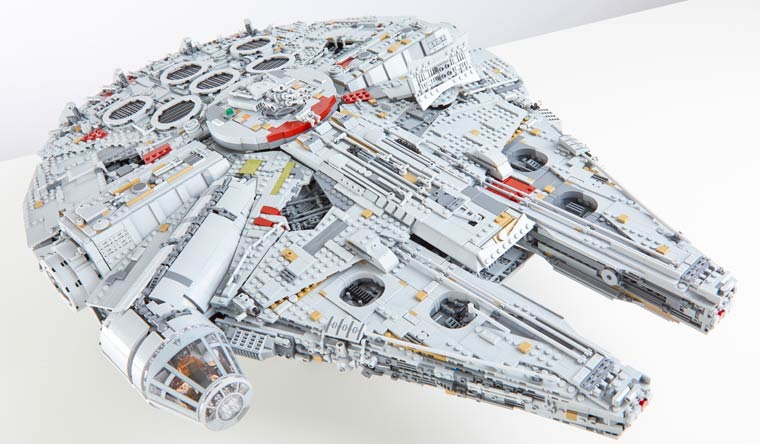 Guinness World Records, Guinness World Records 2019, LEGO, LEGO-model, Tusindårsfalken, rekordbog, rekord, Star Wars
