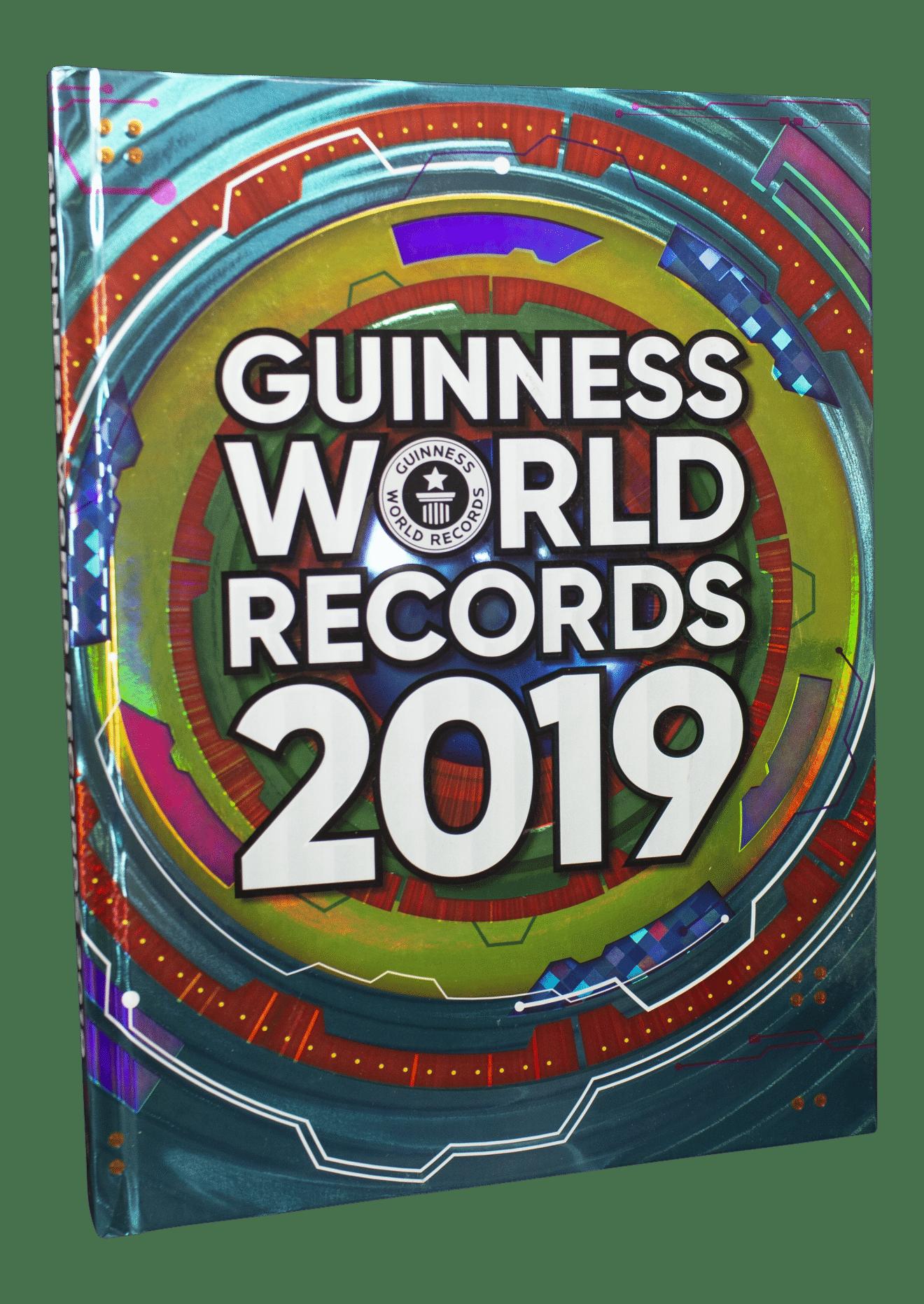 Guinness World Records, Guinness World Records 2019, rekord, rekordbog, rekordbøger, børnebog, børnebøger