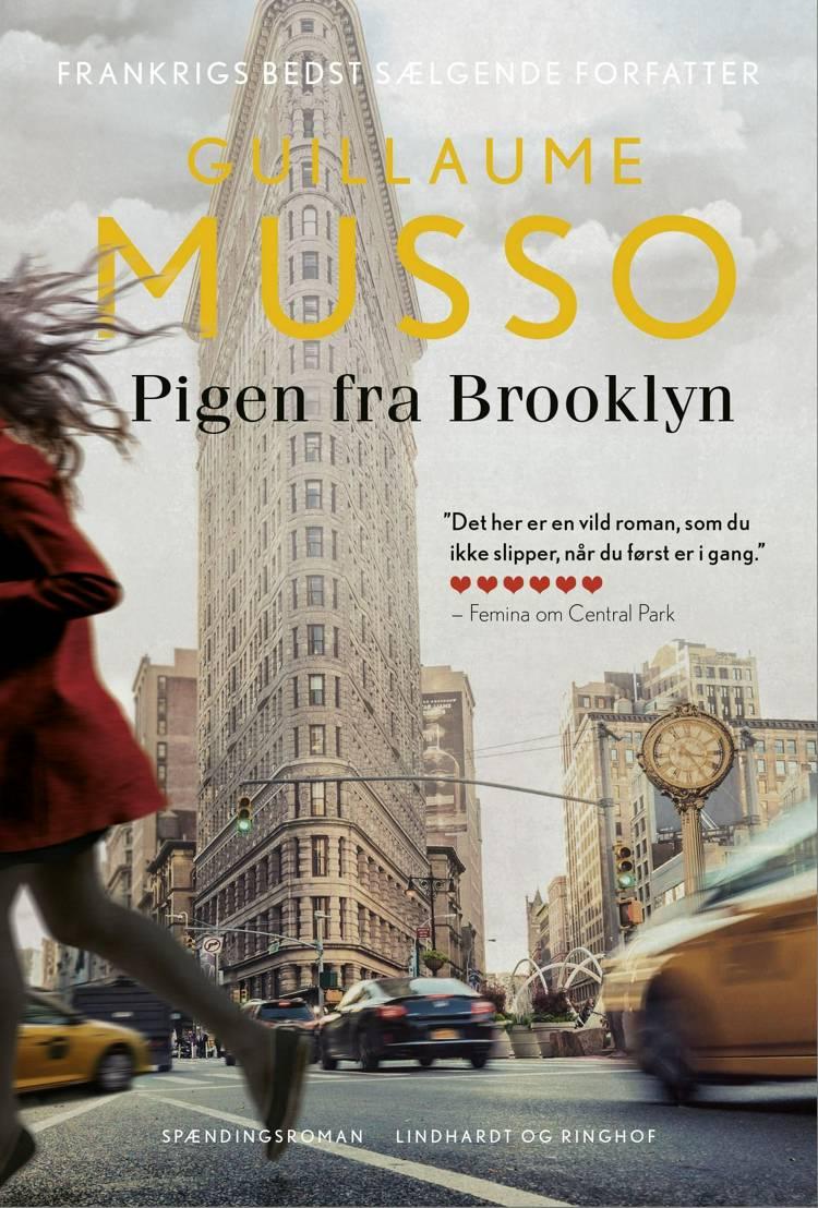 Pigen fra Brooklyn, Guillaume Musso, bedste krimier 2018