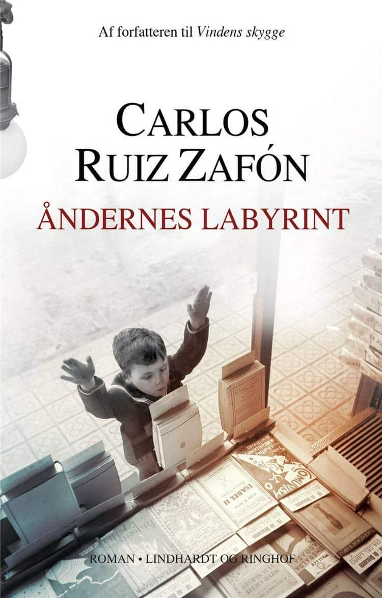Åndernes labyrint, Carlos Ruiz Zafón, de bedste bøger 2018, de bedste romaner 2018
