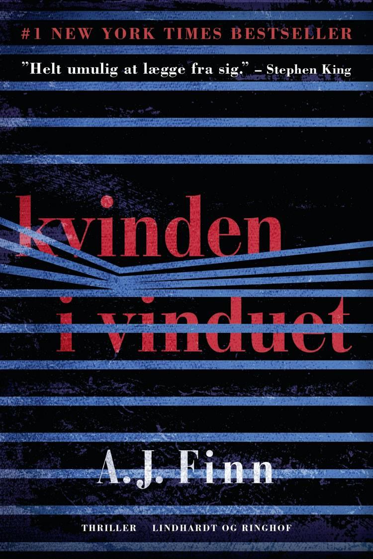 Kvinden i vinduet, A.J. Finn, bedste krimier 2018
