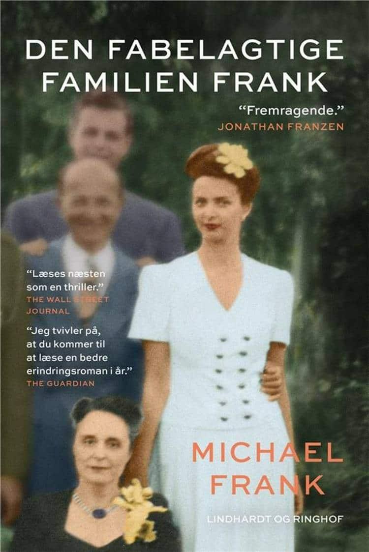 Den fabelagtige familien Frank, Michael Frank, bedste bøger 2018, bedste romaner 2018
