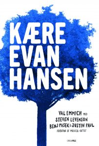 YA, young adult, Kære Evan Hansen, Dear Evan Hansen, ungdomsbog