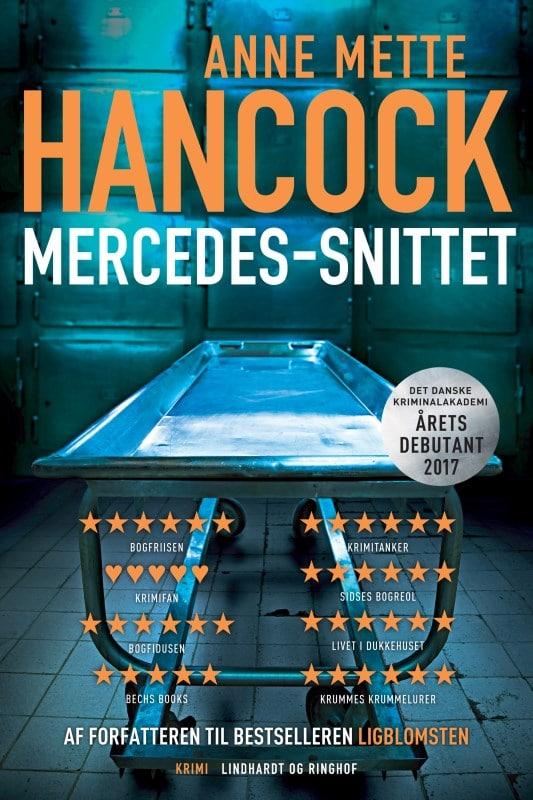 Anne-Mette Hancock, Mercedes-snittet, bedste krimier 2018