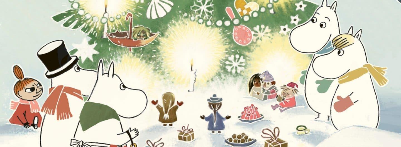 Da julen kom til Mumidalen, julebog, julebøger, mumi, mimutroldene, mumitrold, tove Jansson, julekalender