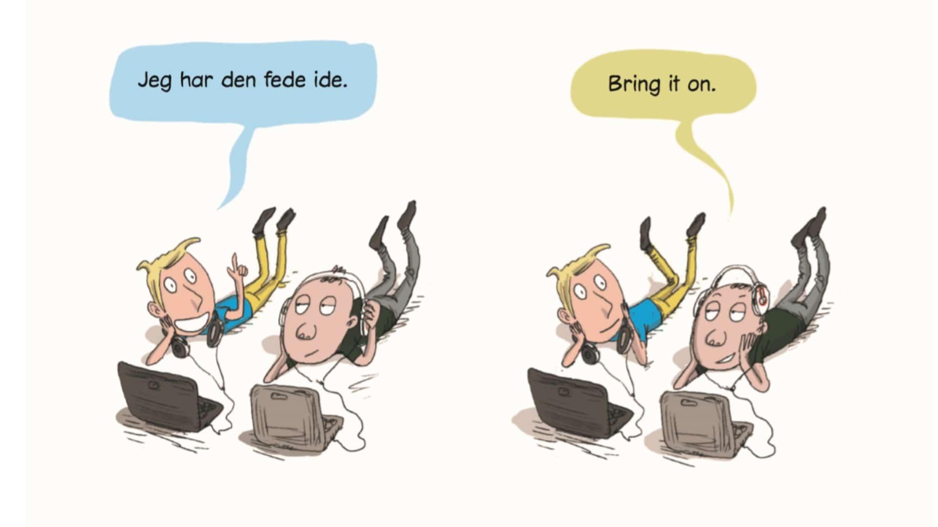 Mogens og Mahdi, mogens og Mahdi forever, tegneserie, tegneseriebog, børnebog, humor, Kim Fupz Aakeson, Rasmus Bregnhøi