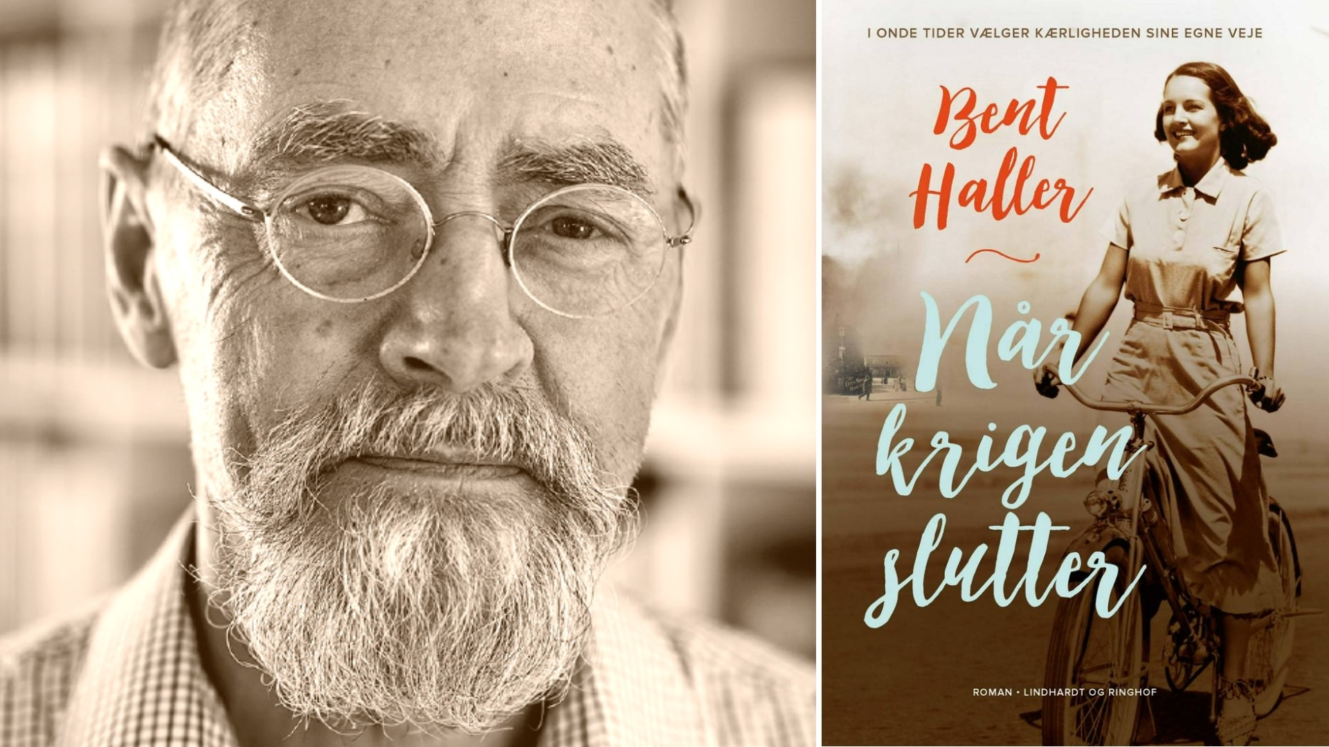 Bent Haller, Når krigen slutter, interview Bent Haller