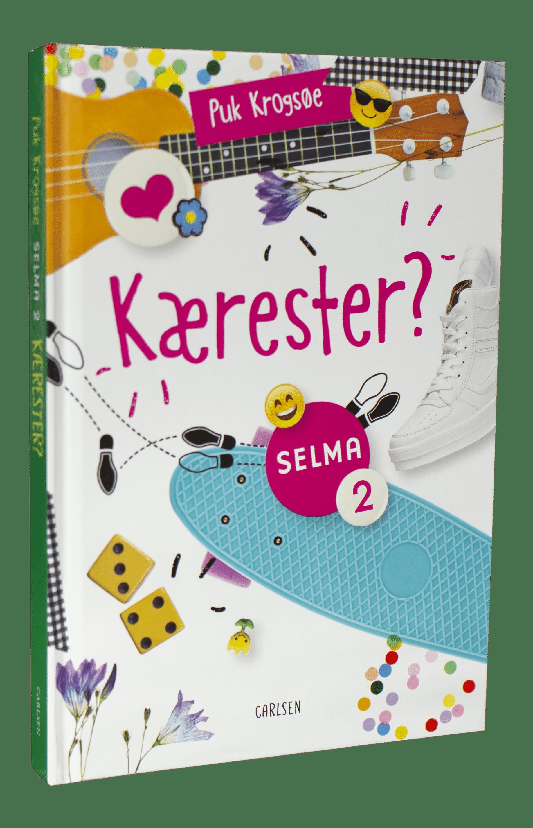 Selma, Selma-bøgerne, Puk Krogsøe, Kærester?, pigebog, bøger til piger, børnebog, børnebøger