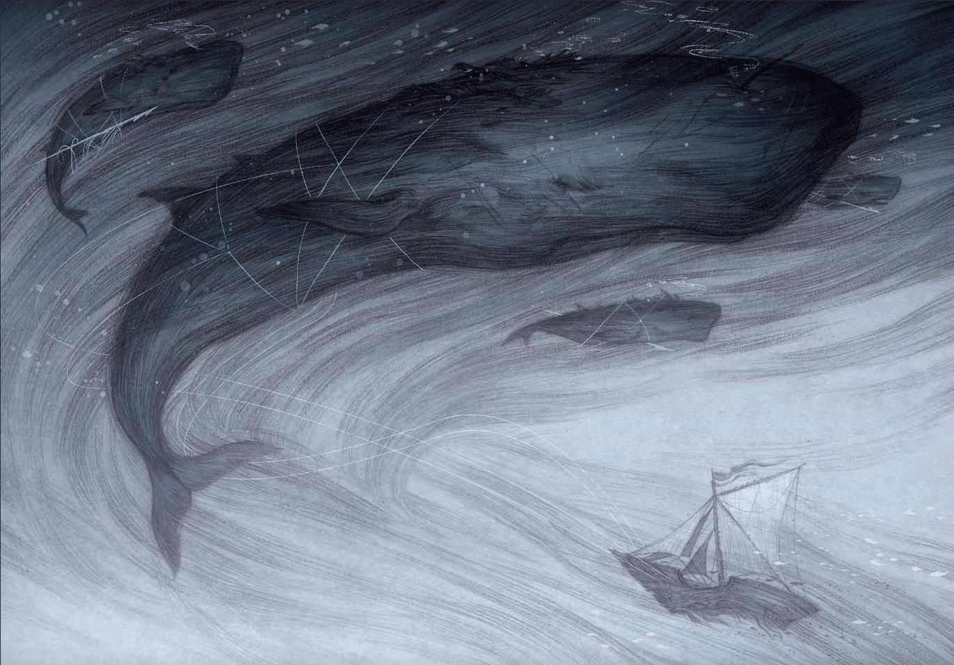 Og havet var vores himmel, Patrick Ness, YA, Young adult, Monster