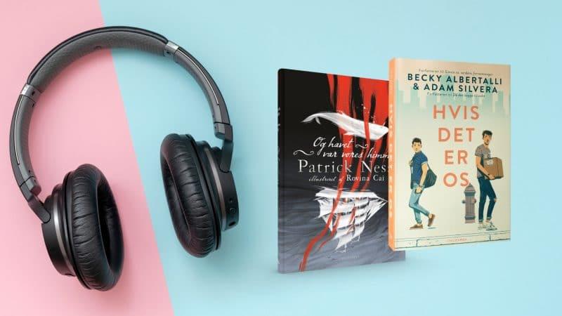 lydbog, lydbøger, bøger, læsning, ya, young adult, og havet var vores himmel, hvis det er os