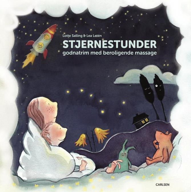 Stjernestunder, Lotte Salling, godnat, godnatlæsning, billedbog, billedbøger, godnatrim