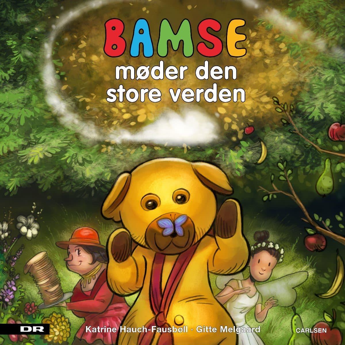 Bamse, Bamse møder den store verden, bamse og kylling, bamse bog, børnebog, billedbog, billedbøger, børnebøger