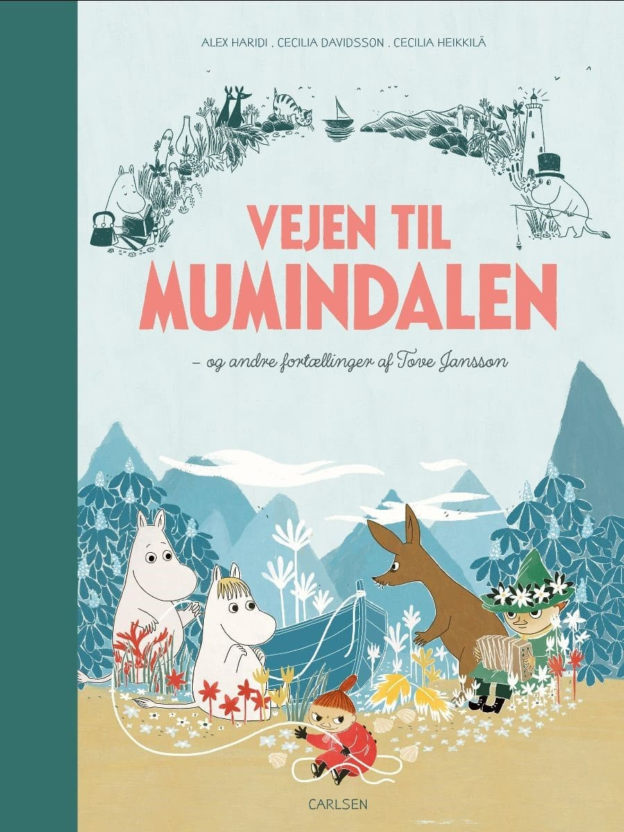 Vejen til Mumidalen, Tove Jansson, mumi, mumitroldene
