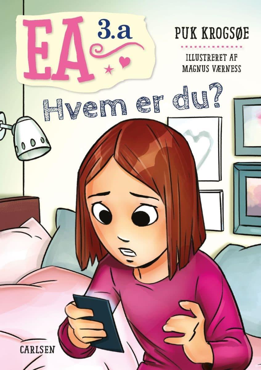 Ea 3.a., Puk Krogsøe, børnebog, børnebøger, pigebog, 6-9-årige
