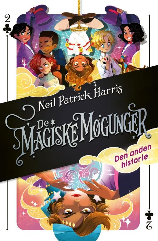 Magiske møgunger, Neil Patrick Harris, magibog, børnebog, børnebøger