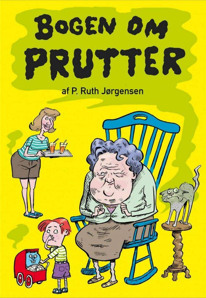 Bogen om prutter, P. Ruth Jørgensen, bøger om prutter, pruttebog, børnebog, børnebøger