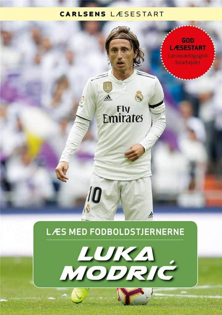 Luka Modric, Læs med fodboldstjernerne, Christian Mohr Boisen, fodboldbog, fodboldbøger til børn