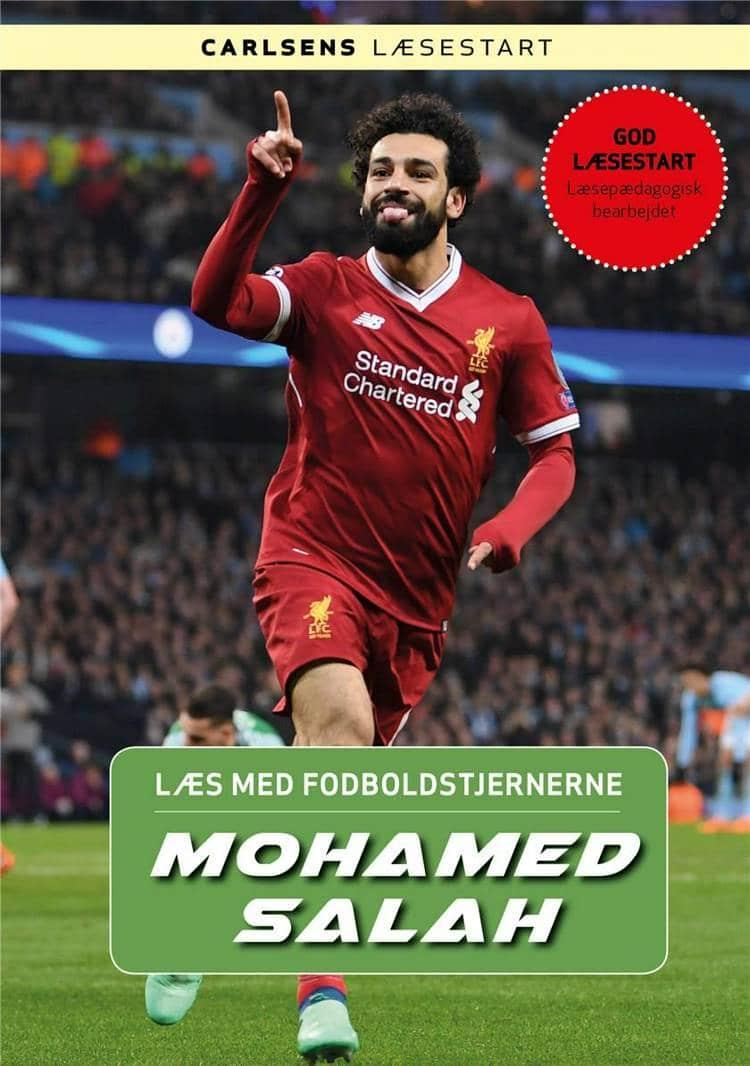 Mohamed Salah, Læs med fodboldstjernerne, fodboldbog, fodboldbøger til børn, Christian Mohr Boisen