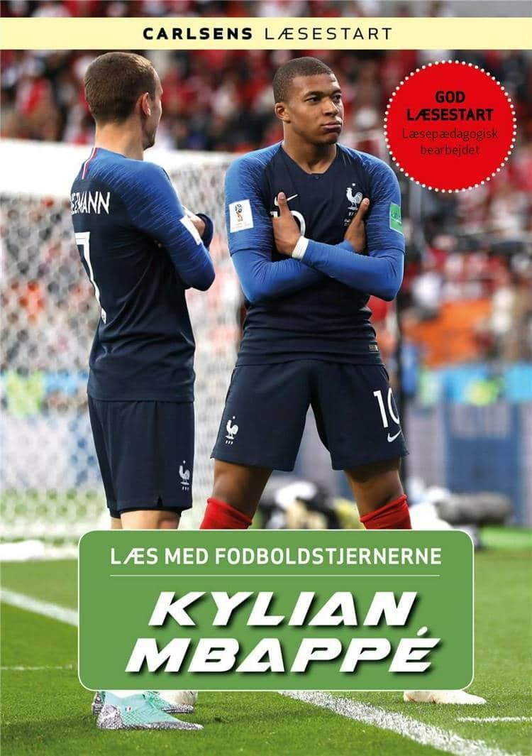 Kylian Mbappé, Læs med fodboldstjernerne, Christian Mohr Boisen, fodboldbog, fodboldbøger til børn