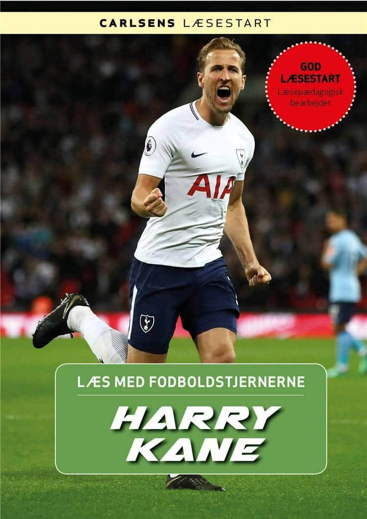 Harry Kane, Christian Mohr Boisen, fodboldbog, Læs med fodboldstjernerne, fodboldbøger til børn