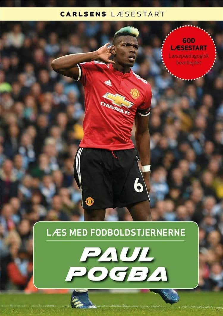 Paul Pogba, Læs med fodboldstjernerne, fodboldbog, fodboldbøger til børn, Christian mohr Boisen
