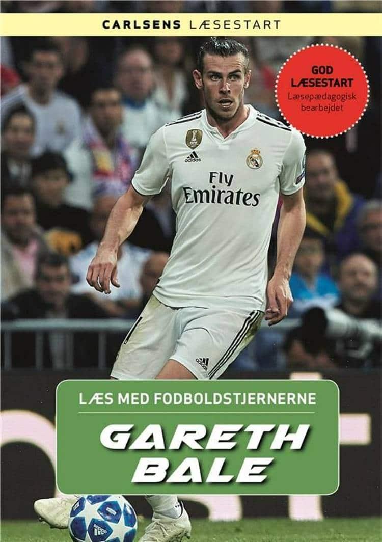 Læs med fodboldstjernerne, Christian Mohr Boisen, Gareth Bale, fodboldbog, fodboldbøger til børn