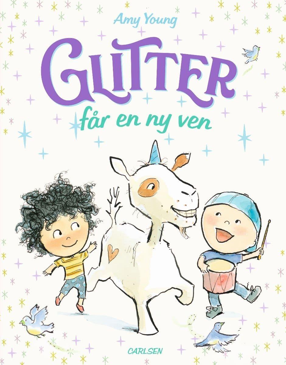 Amy young, Glitter får en ny ven, billedbog, billedbøger