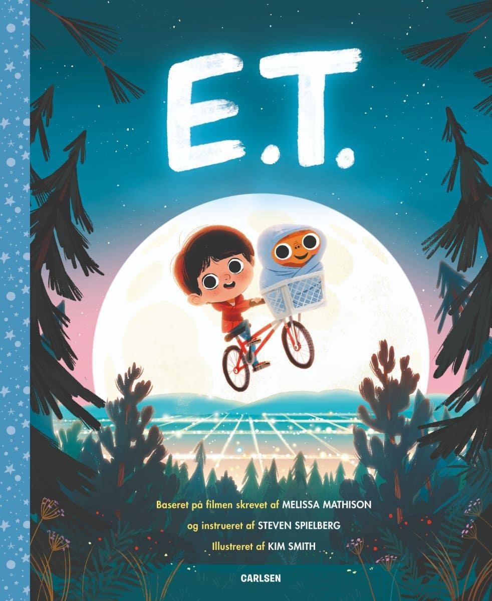 E.T., børnebog, børnebøger, billedbog, billedbøger