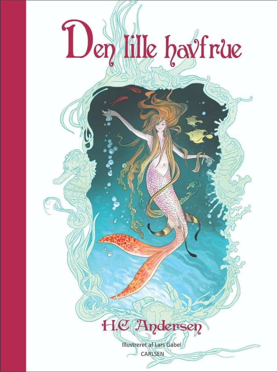 Den lille havfrue, H.C. Andersen, eventyr, billedbog, billedbøger