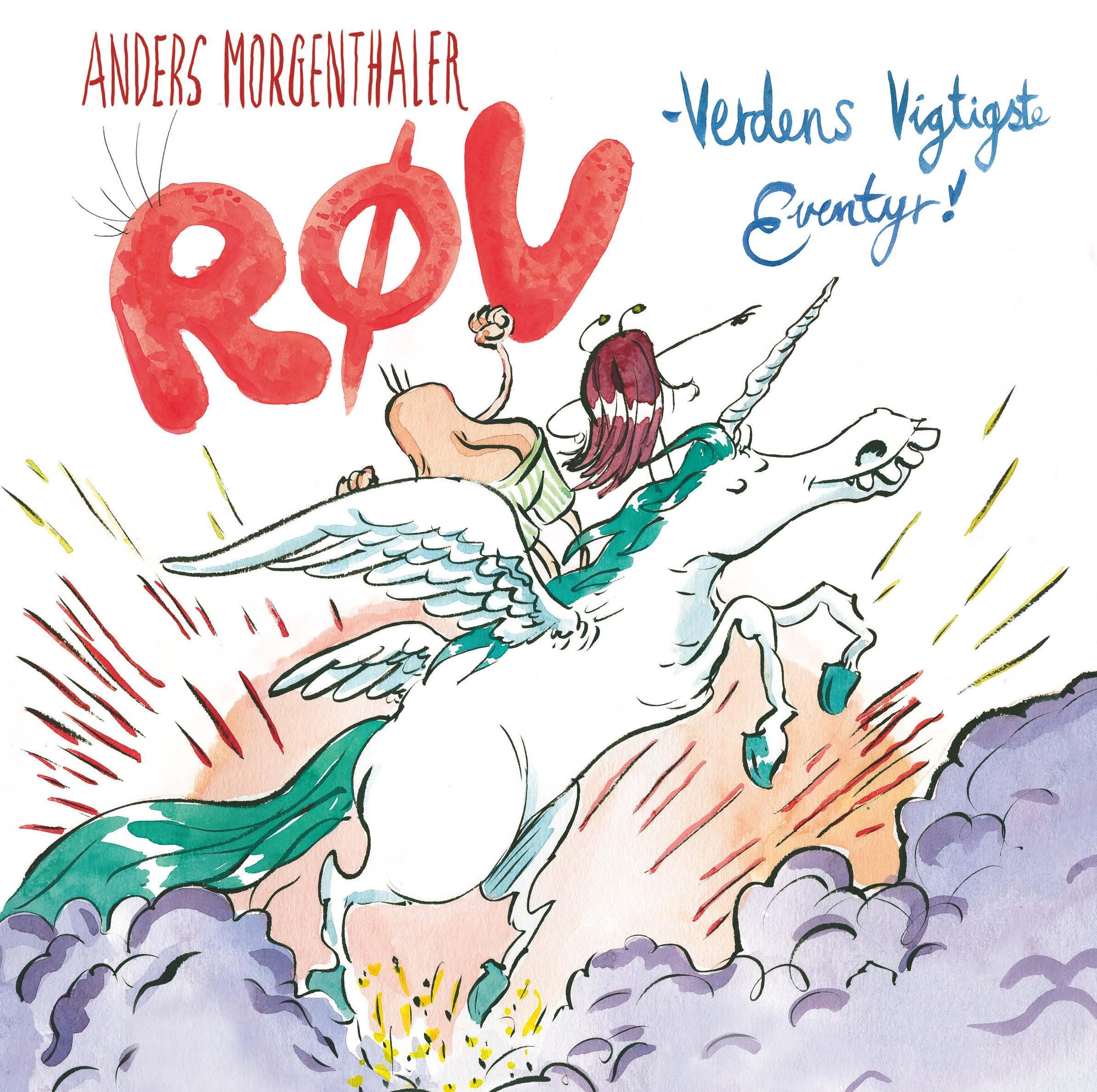 Anders Morgenthaler, Røv - verdens vigtigste eventyr, billedbog,