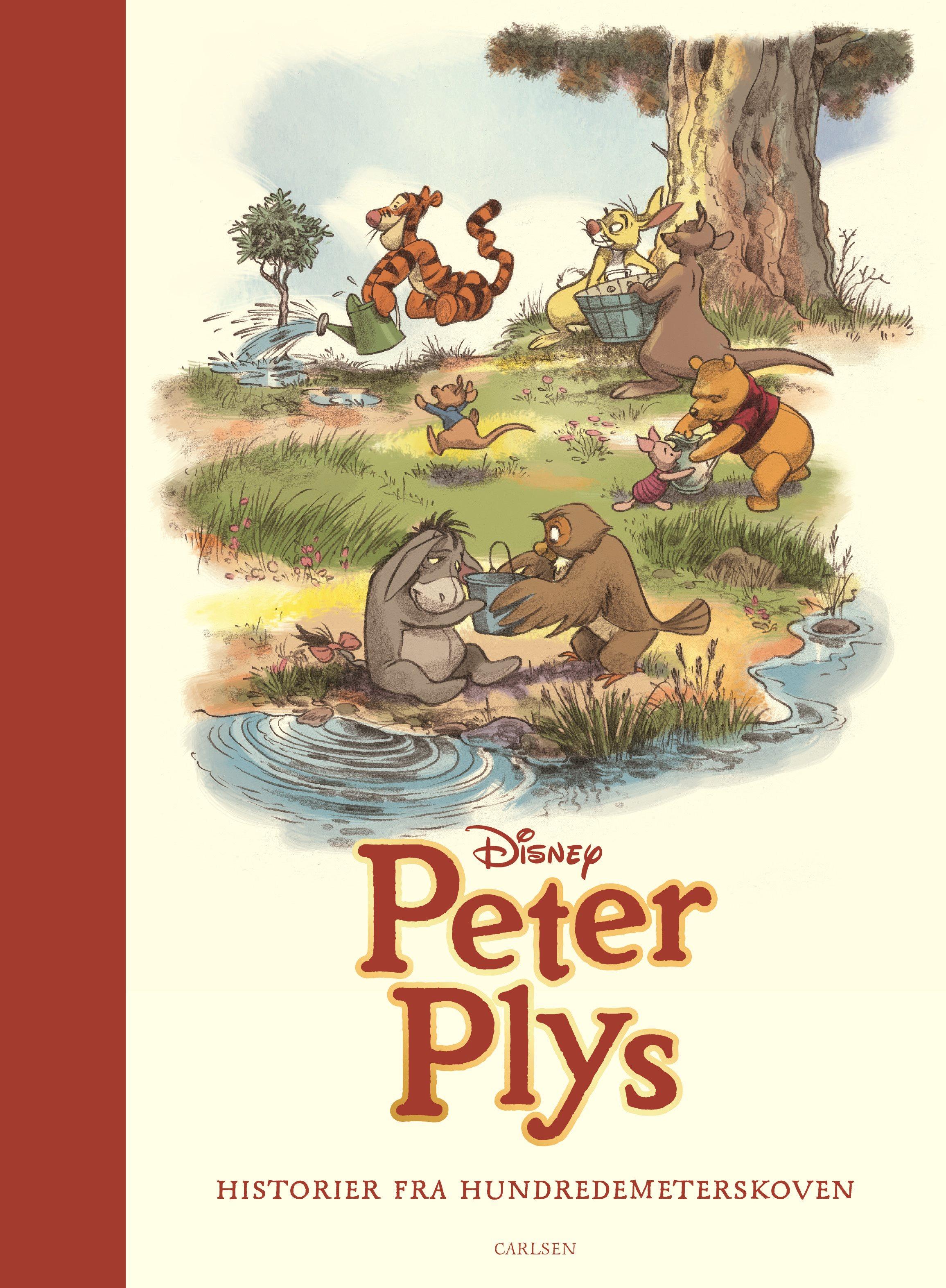Peter Plys, Historier fra hundredemeterskoven, højtlæsning, højtlæsningbog, billedbog