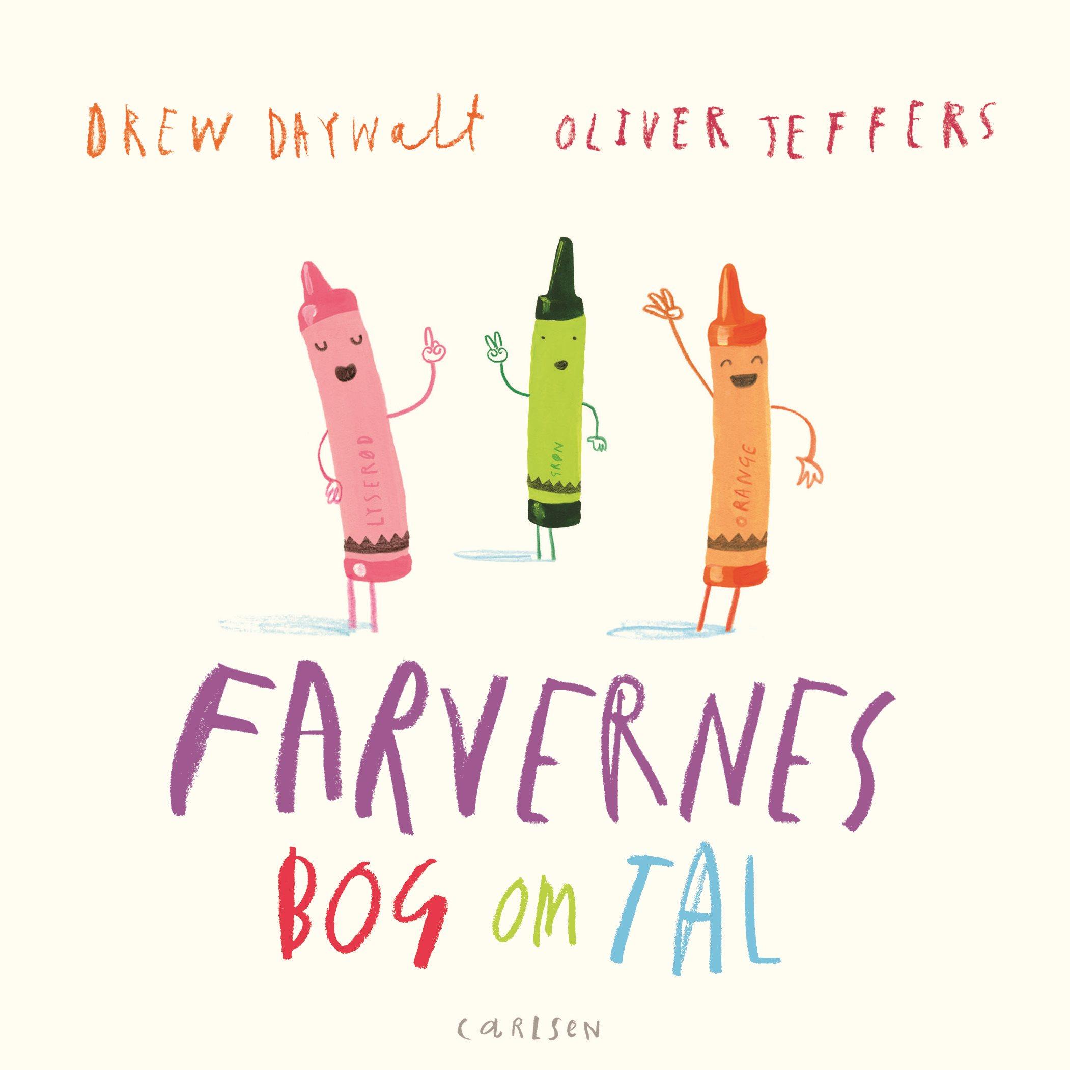 Oliver Jeffers, Drew Daywalt, Farvernes bog om tal, pegebog, billedbog