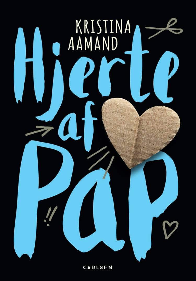 Hjerte af pap, Kristina Aamand, børnebog, børnebøger, børnebog om skilsmisse