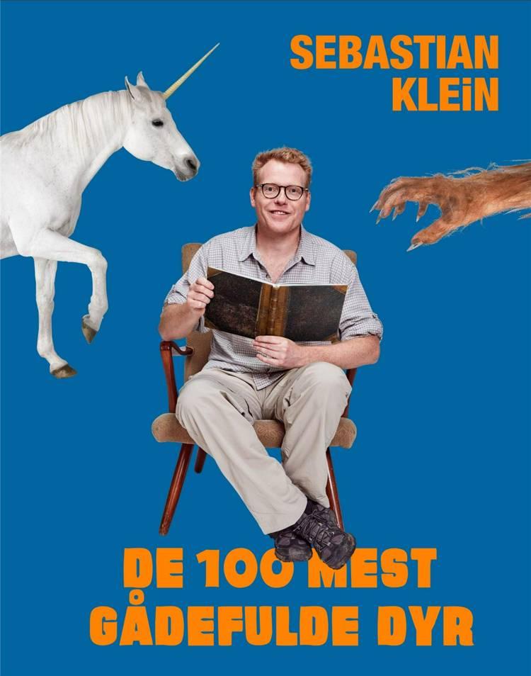 De 100 mest gådefulde dyr, Sebastian Klein, fagbog, bøger om dyr, fagbøger, dyrebog, dyrebøger