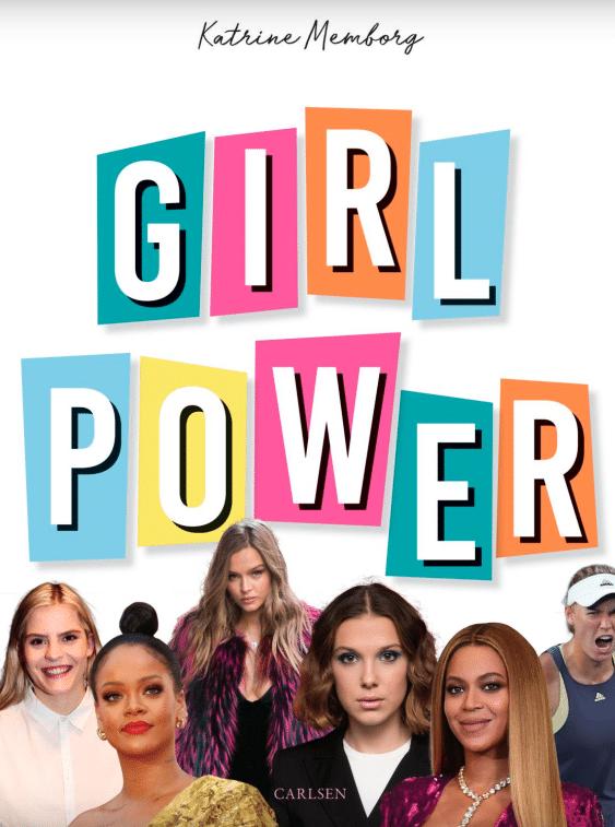 Girl power, Katrine memborg, fagbog, fagbøger, fagbøger til børn, stærke kvinder, seje kvinder