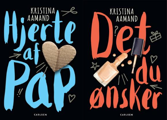 Hjerte af pap, Kristina Aamand, Det du ønsker, børnebog, børnebøger, bog om skilsmisse,