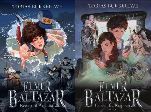 Elmer Baltazar, Rejsen til arkadia, Truslen fra Kragoria, fantasy, fantasy til børn, børnebog, børnebøger